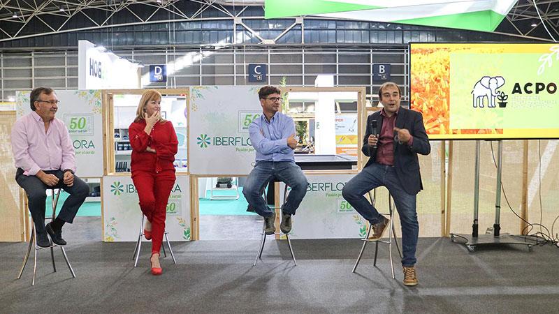 Presentación de ACPO en Iberflora 2021